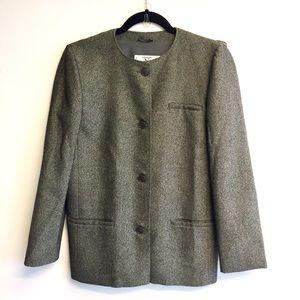 VALENTINO Vintage Blazer Jacket Grey 4